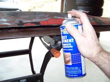 Spray On Rust Converter