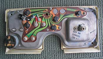 instrument circuit board