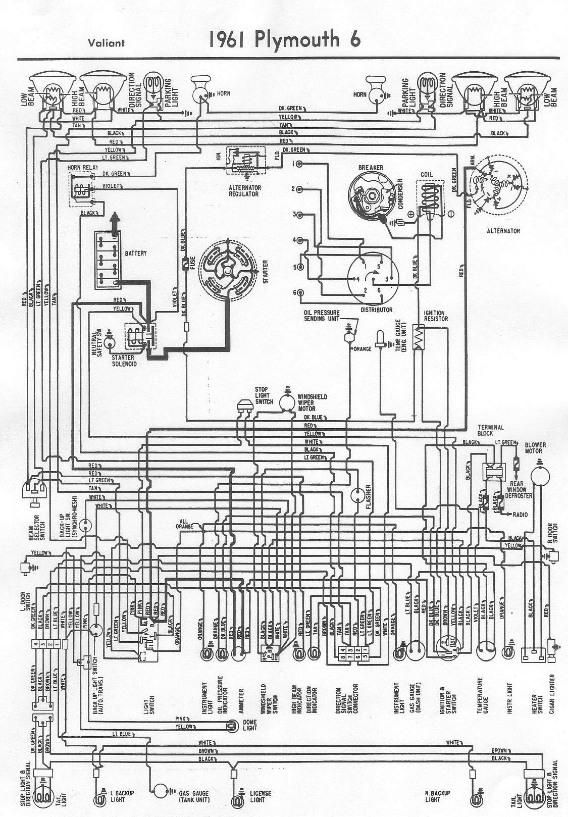 1965 Ply Barracuda Wiring Diagram
